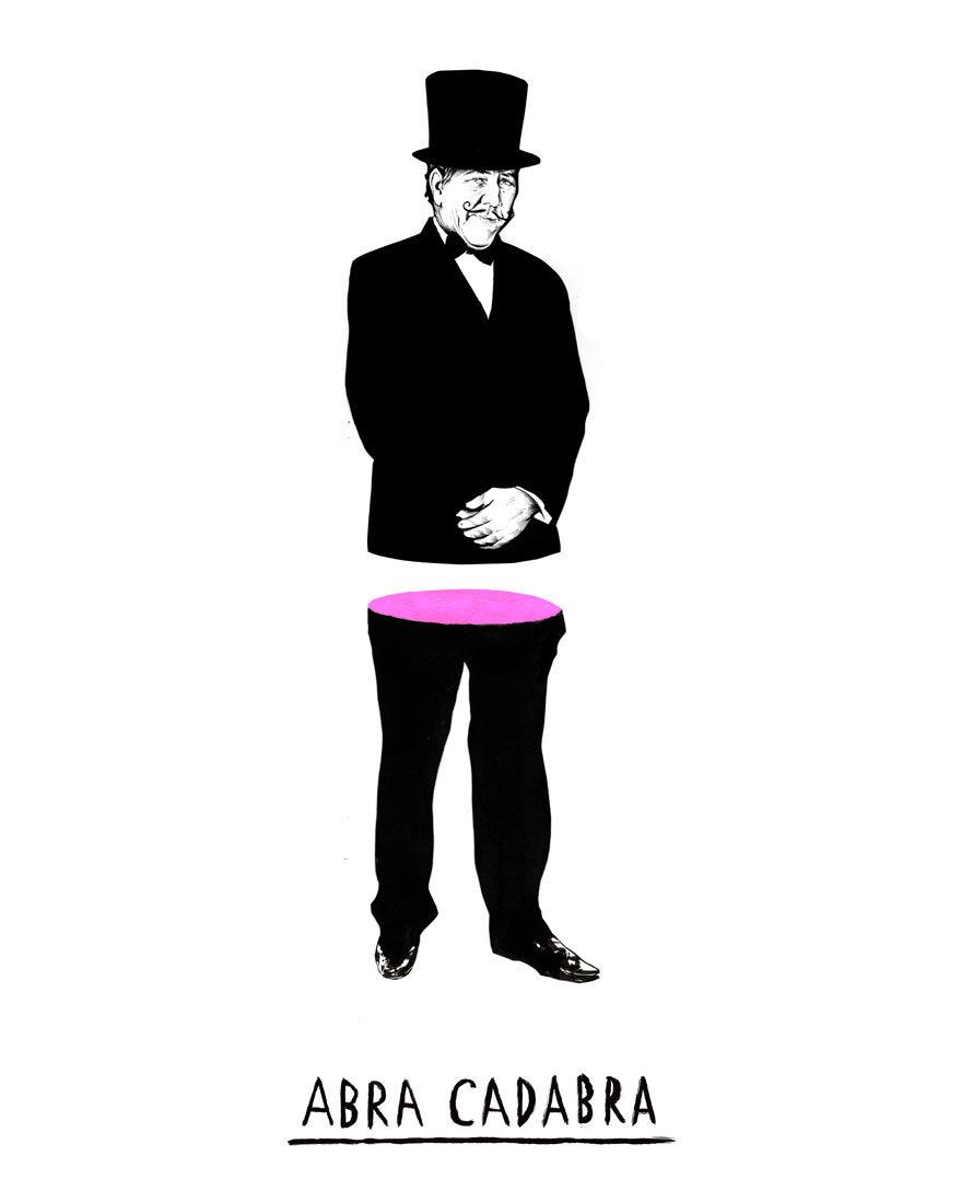 Abara cadabra - Kornel Illustration | Kornel Stadler portfolio