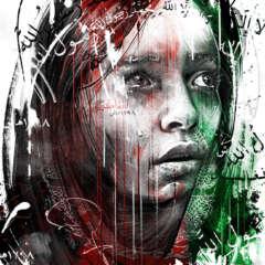 Work Afghanistan woman women human rights editorial illustration portrait conceptual Kornel Illustration | Kornel Stadler