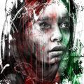 Client Arbeit Afghanistan woman women human rights editorial illustration portrait conceptual Kornel Illustration | Kornel Stadler