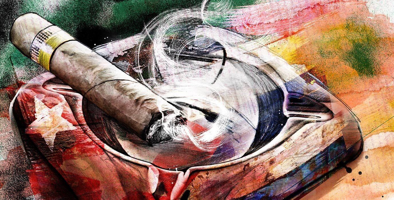 R I P Fidel Castro illustration - Kornel Illustration | Kornel Stadler portfolio