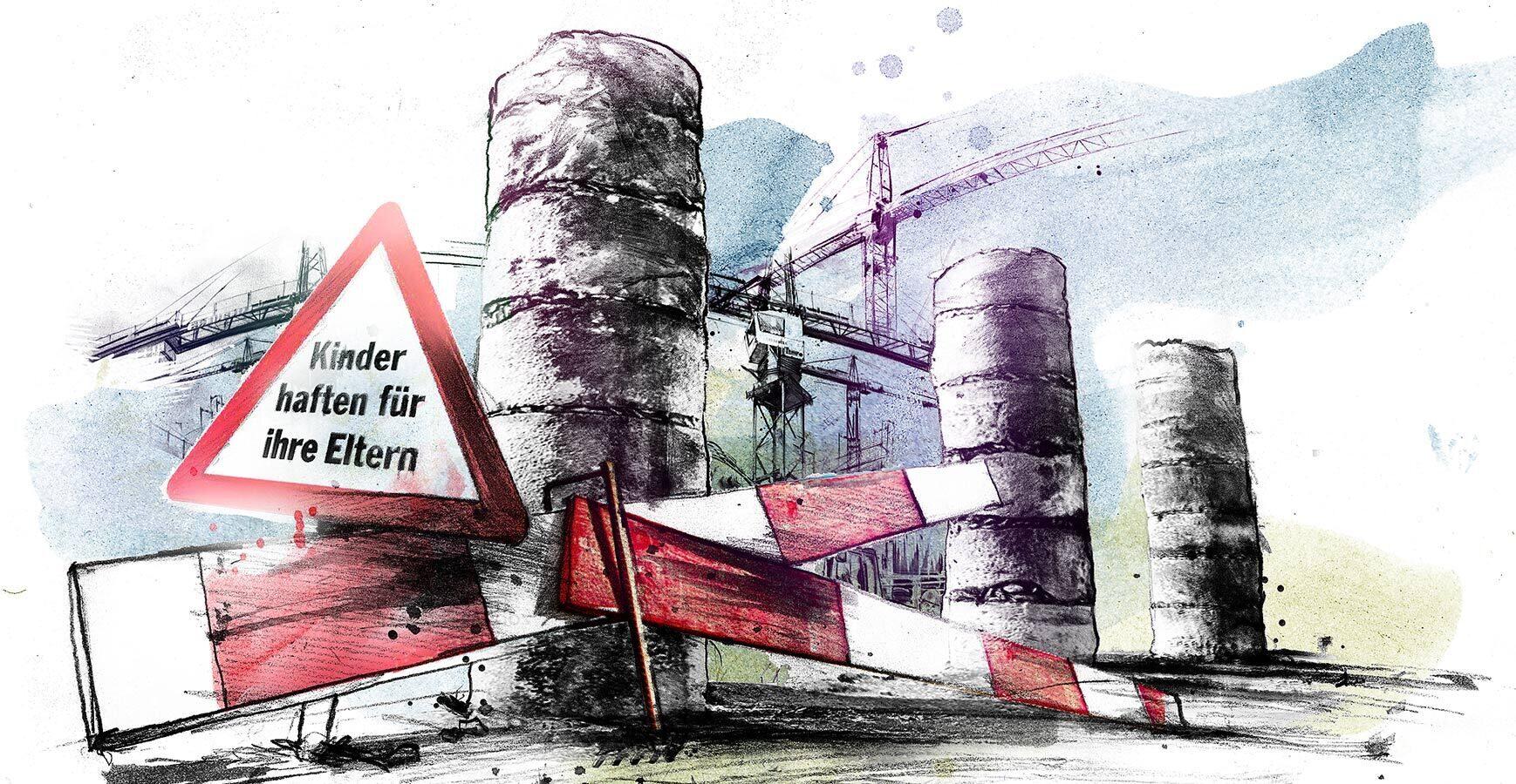 AHV Reform illustration Schweiz - Kornel Illustration | Kornel Stadler portfolio