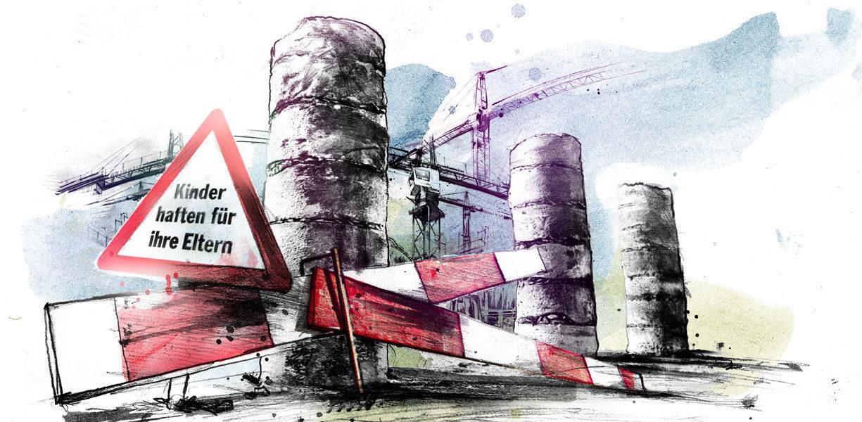 AHV Reform - Kornel Illustration | Kornel Stadler portfolio