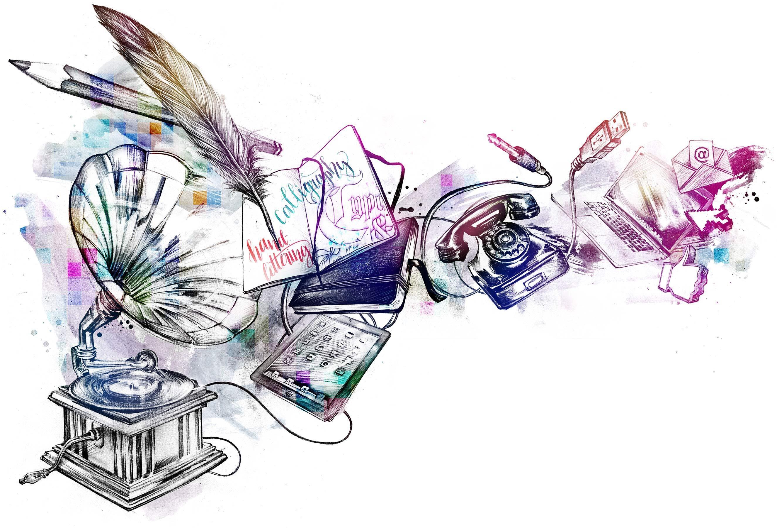Analog digital editorial illustration - Kornel Illustration   Kornel Stadler portfolio