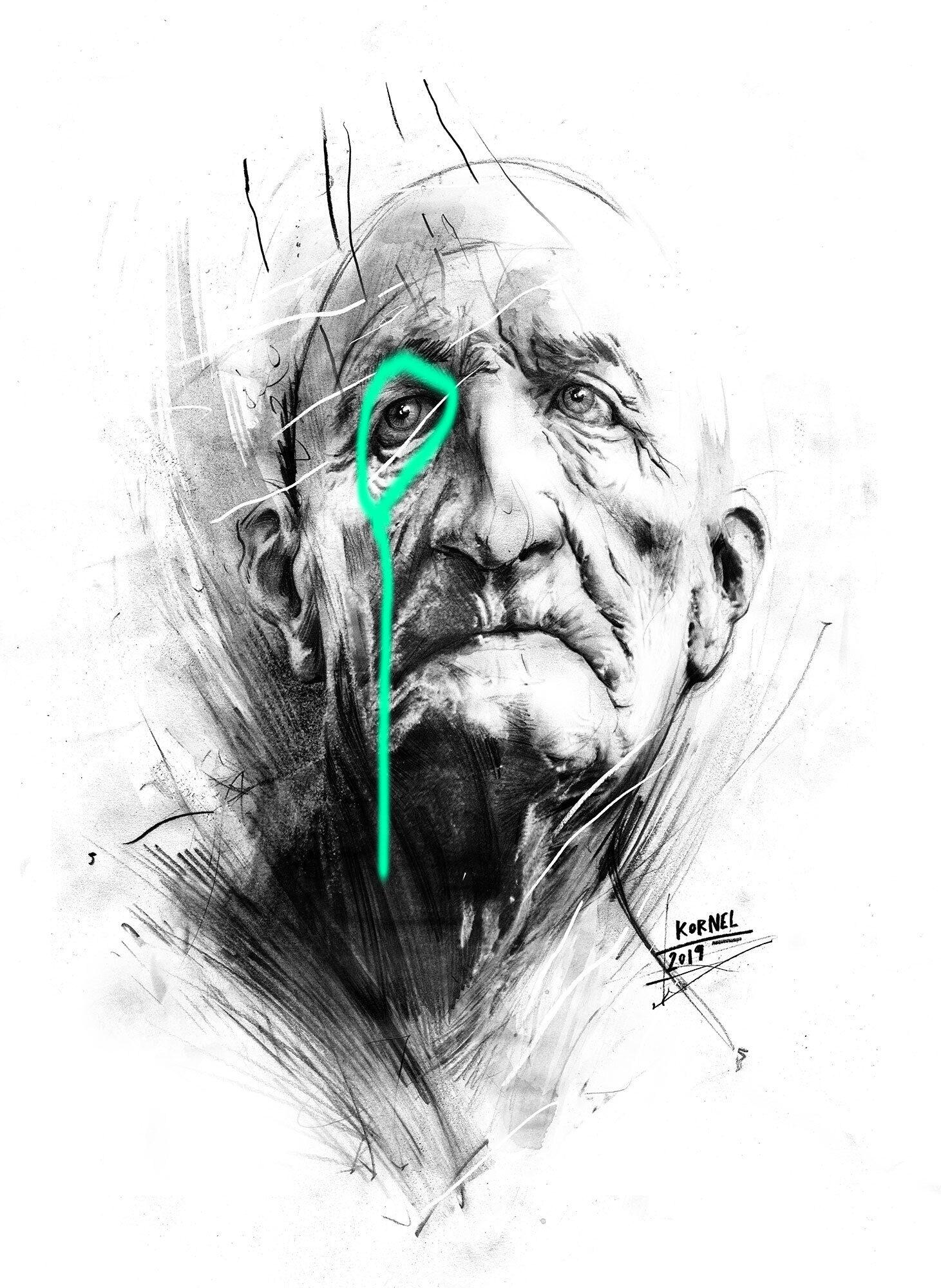 Artwork head - Kornel Illustration | Kornel Stadler portfolio
