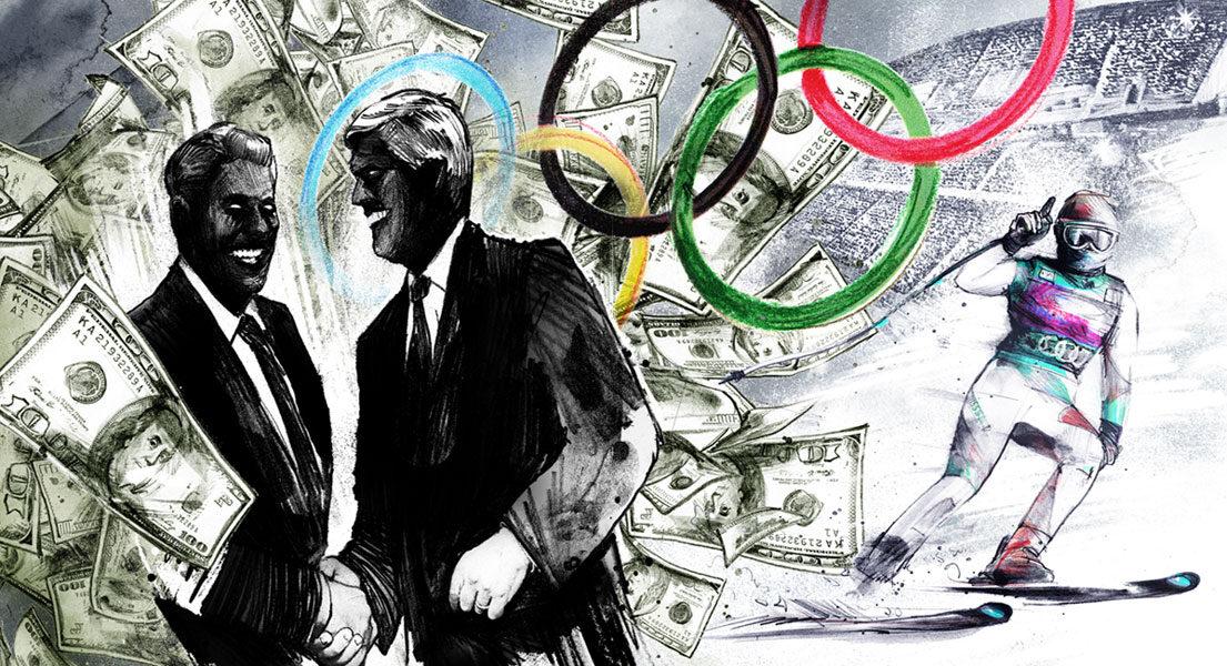 Olympia Korruption - Kornel Illustration | Kornel Stadler portfolio
