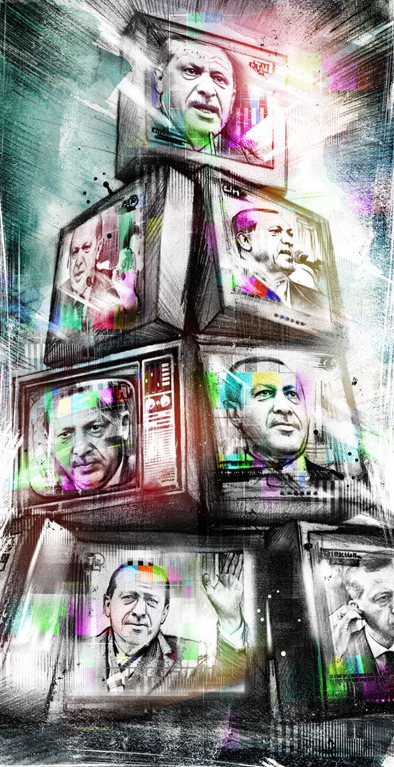 Erdogan TV - Kornel Illustration | Kornel Stadler portfolio