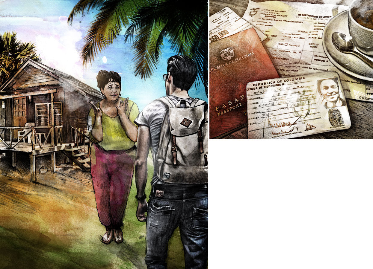 Kolumbien - Kornel Illustration | Kornel Stadler portfolio