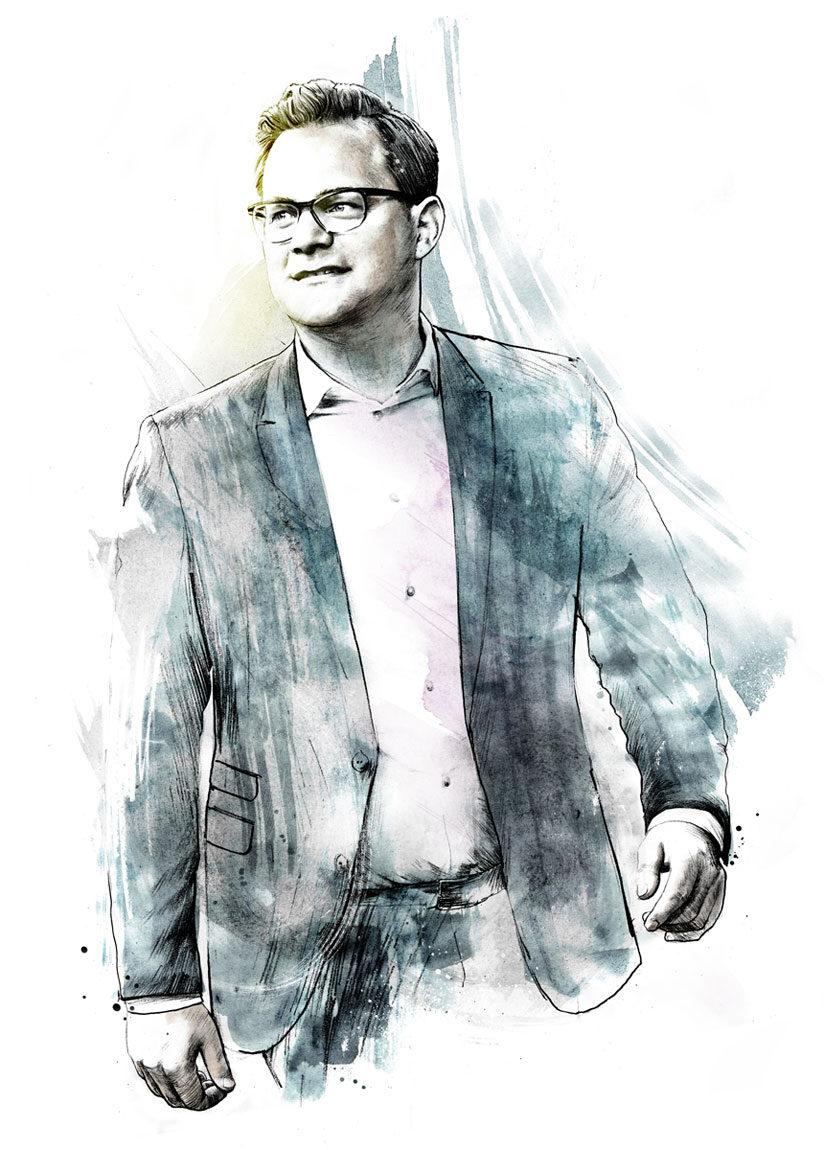 Portrait4 - Kornel Illustration | Kornel Stadler portfolio