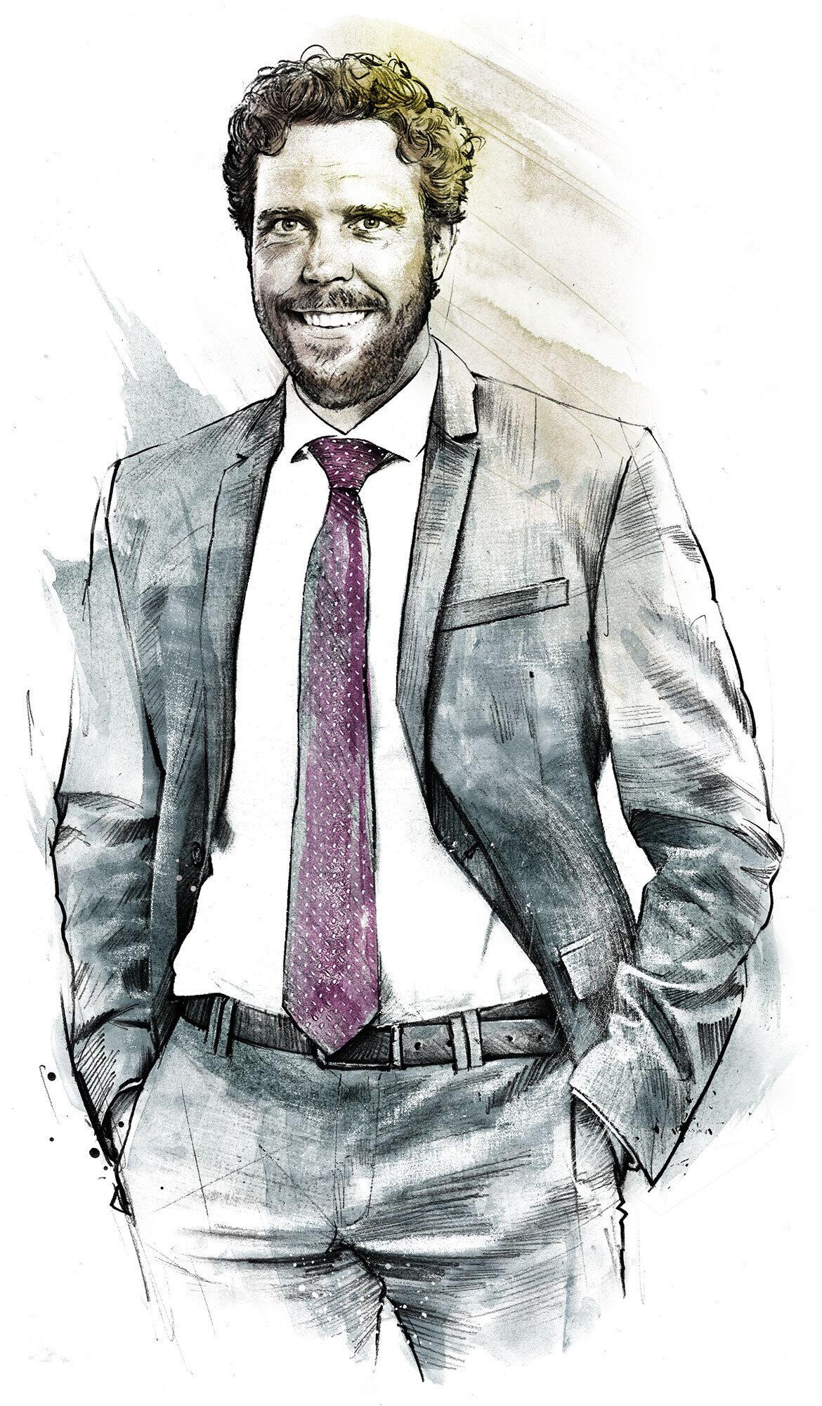 Portrait - Kornel Illustration | Kornel Stadler portfolio