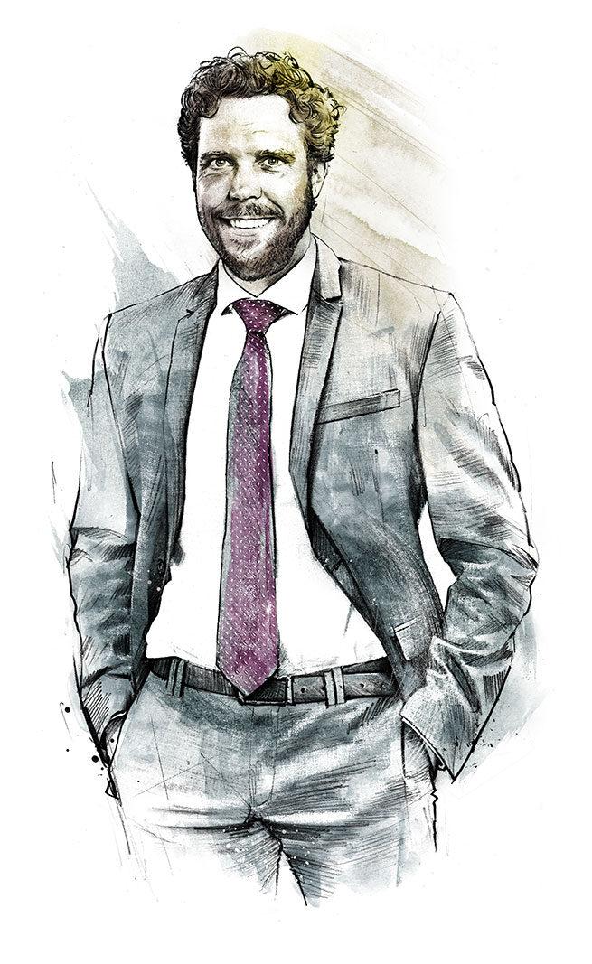 Portrait Profilwerkstatt - Kornel Illustration | Kornel Stadler portfolio