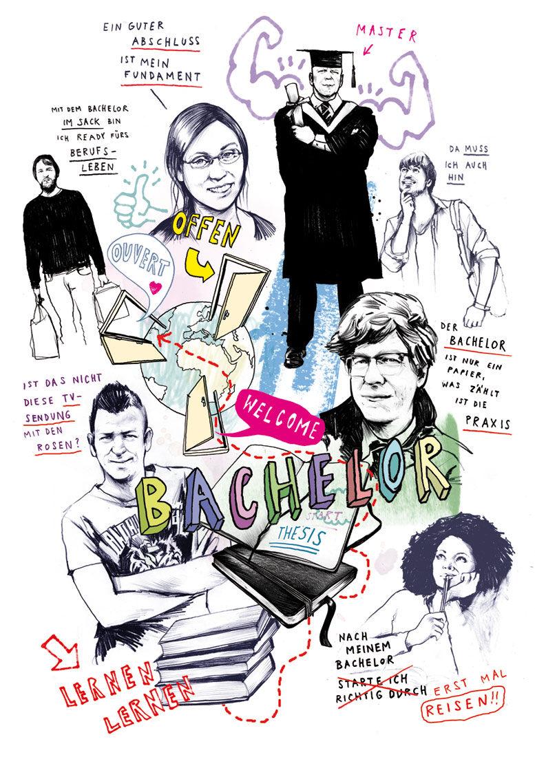 Bacheleor - Kornel Illustration | Kornel Stadler portfolio