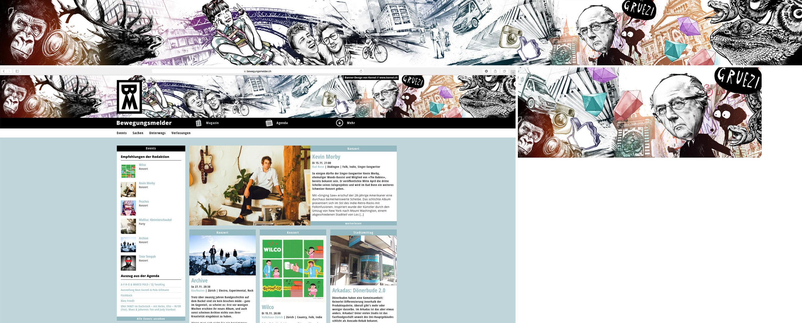 Banner BM - Kornel Illustration | Kornel Stadler portfolio