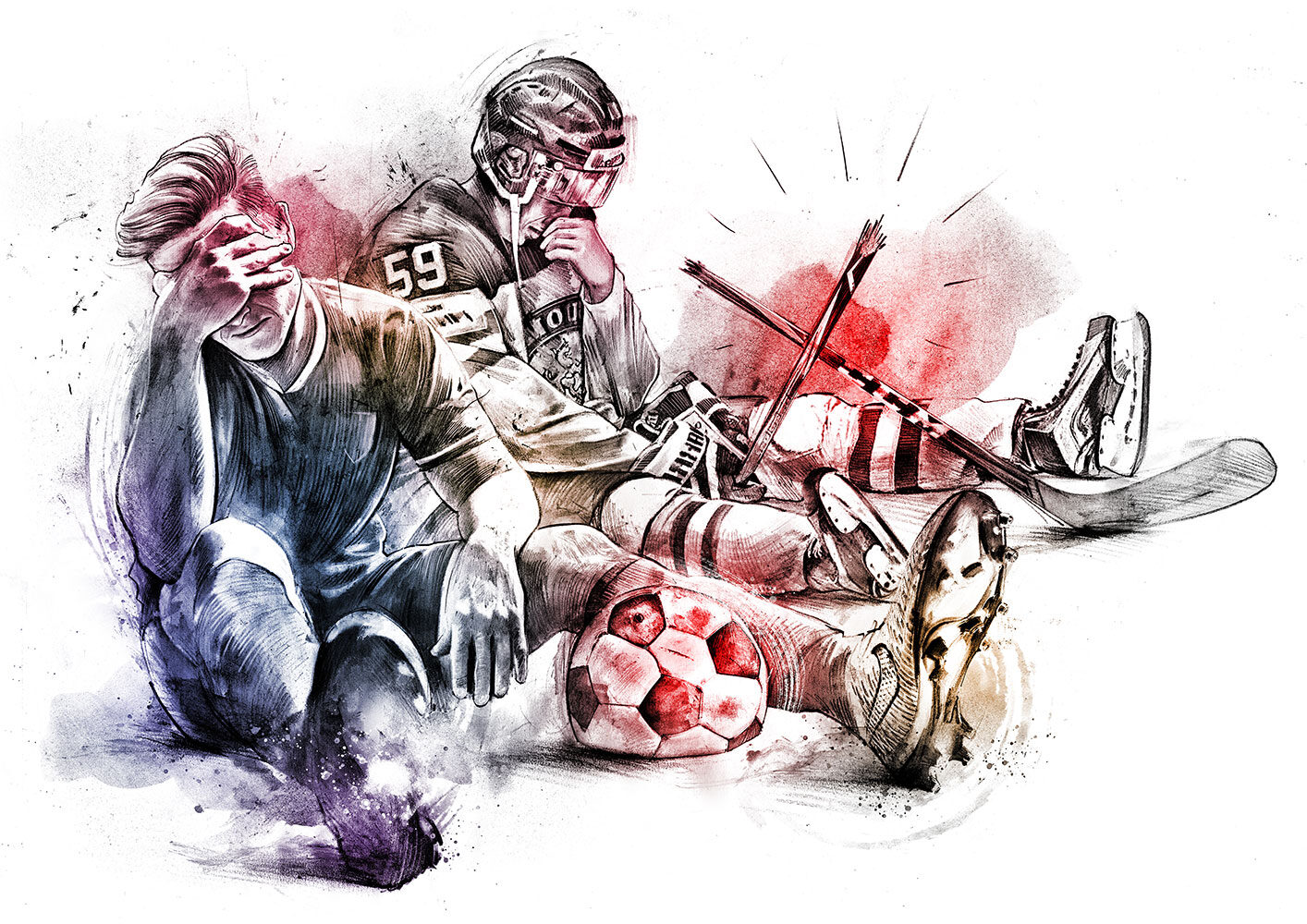 Sport - Kornel Illustration | Kornel Stadler portfolio