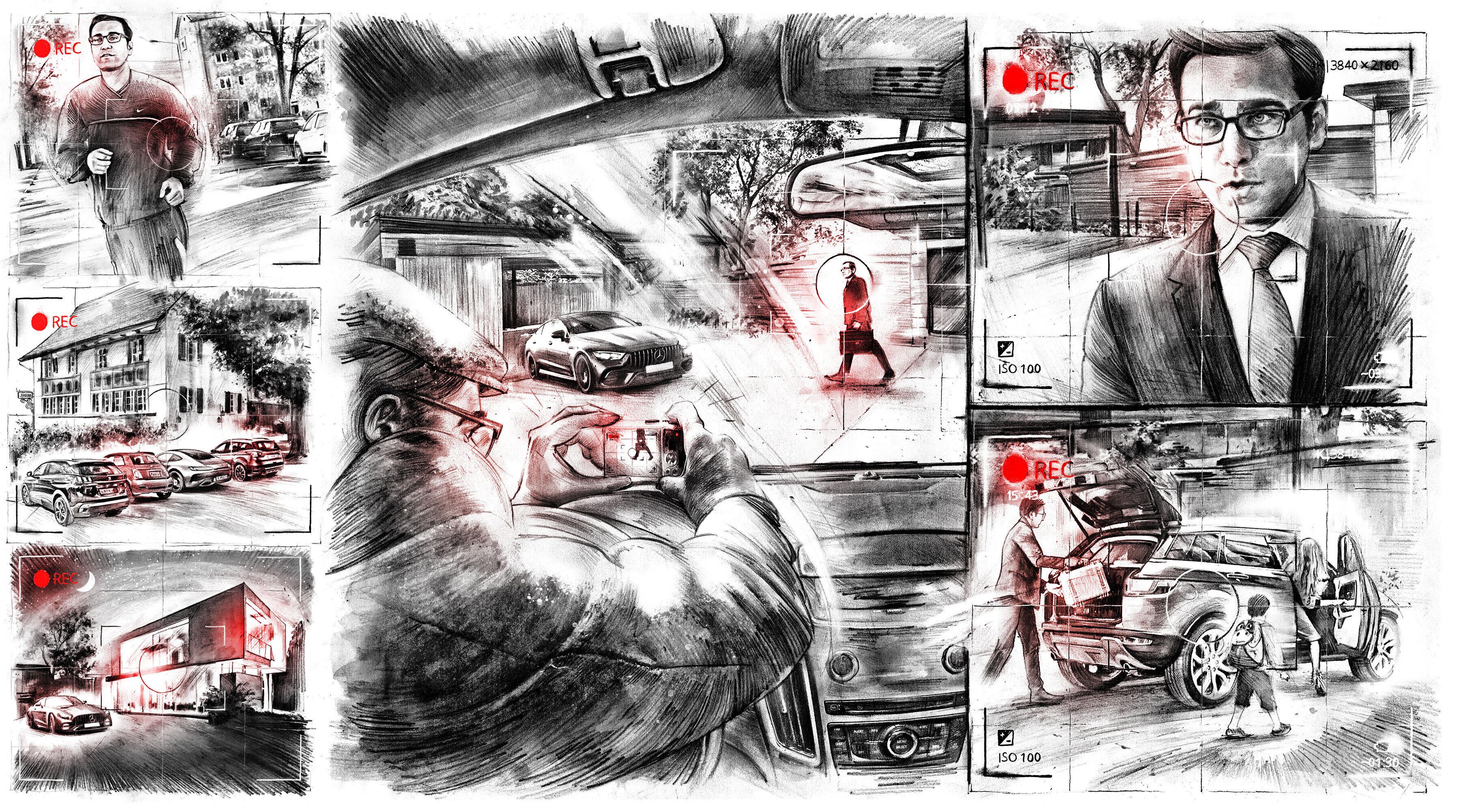 Kahn Comic - Kornel Illustration | Kornel Stadler portfolio