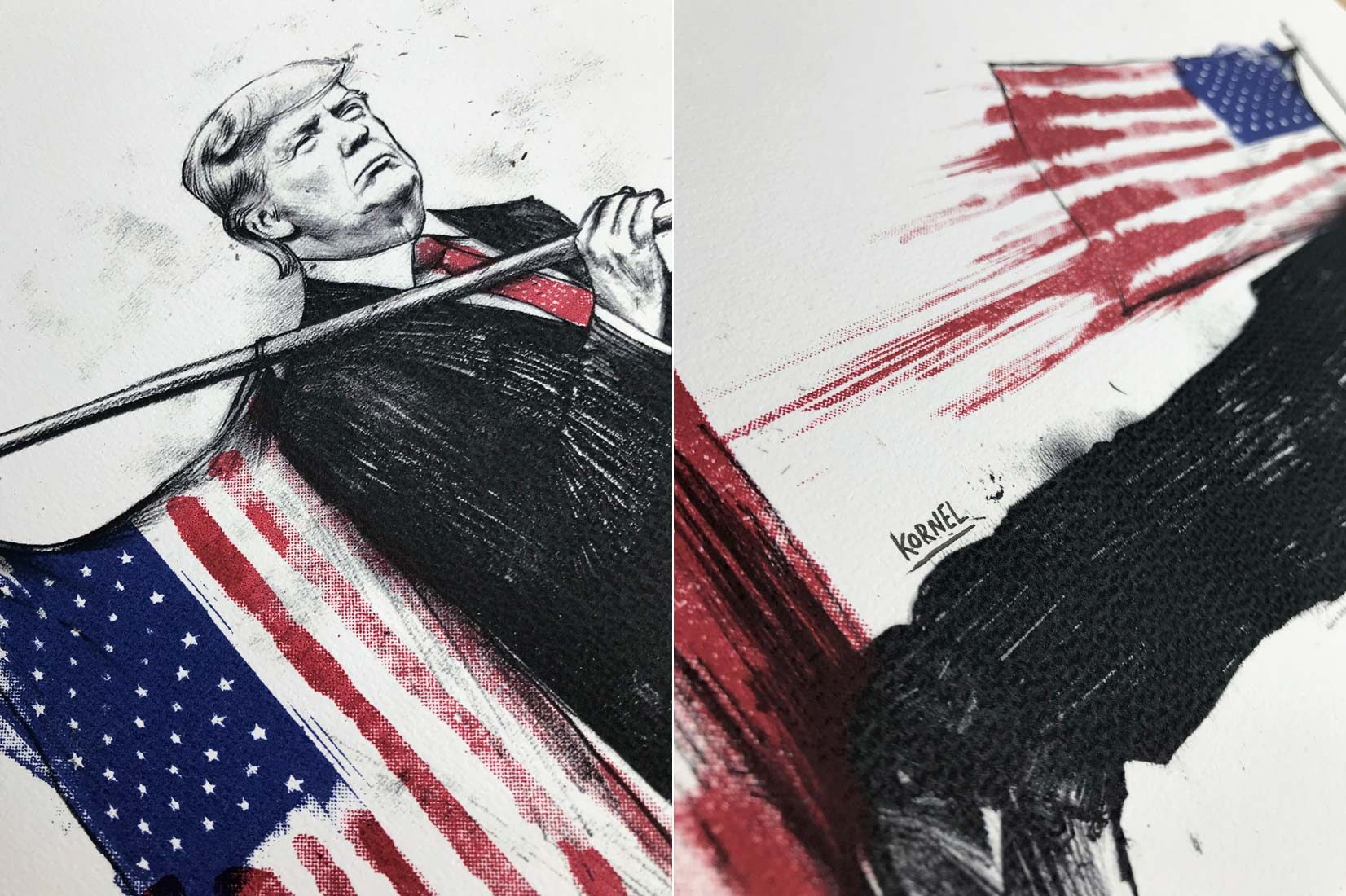 Bloodymerica 2 - Kornel Illustration | Kornel Stadler portfolio
