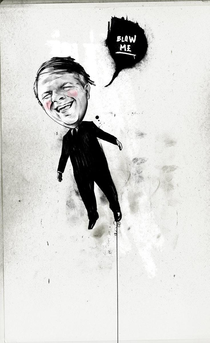 Blow me - Kornel Illustration | Kornel Stadler portfolio