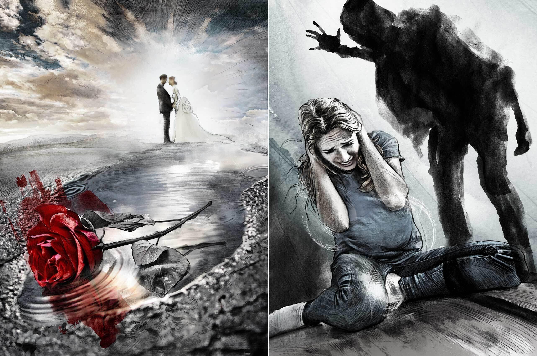 Blutrache illustration rose blut - Kornel Illustration | Kornel Stadler portfolio