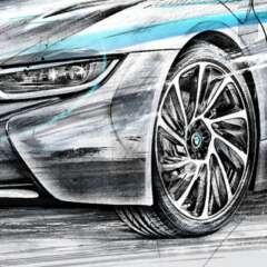 Work BMW i8 2673 1600 815 Kornel Illustration | Kornel Stadler