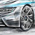 Client Arbeit BMW i8 2673 1600 815 Kornel Illustration | Kornel Stadler