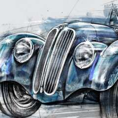 Work BMW Oldy 2672 1500 812 Kornel Illustration | Kornel Stadler