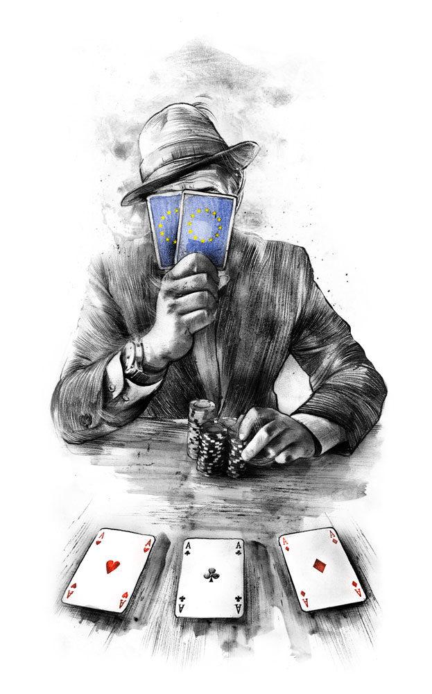 EU Poker - Kornel Illustration | Kornel Stadler portfolio