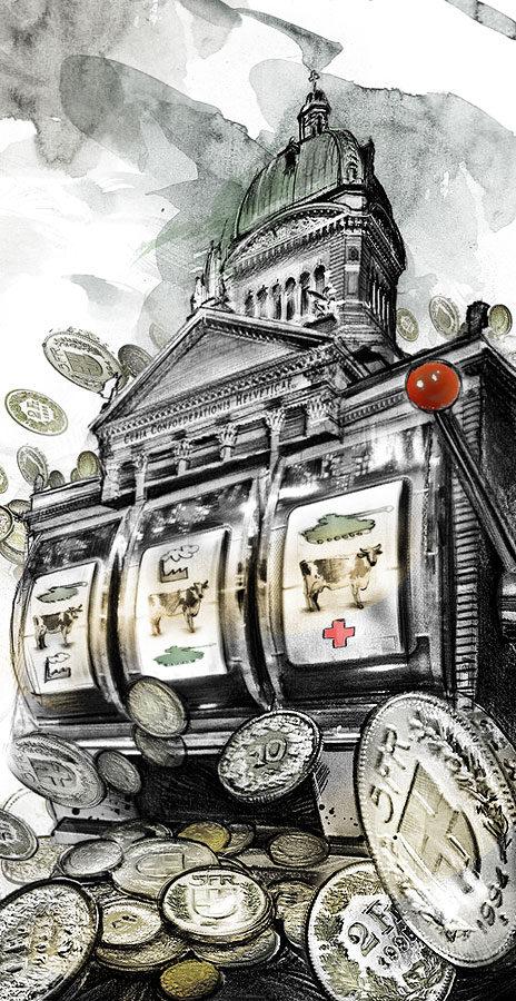 Bundesjackpot - Kornel Illustration | Kornel Stadler portfolio