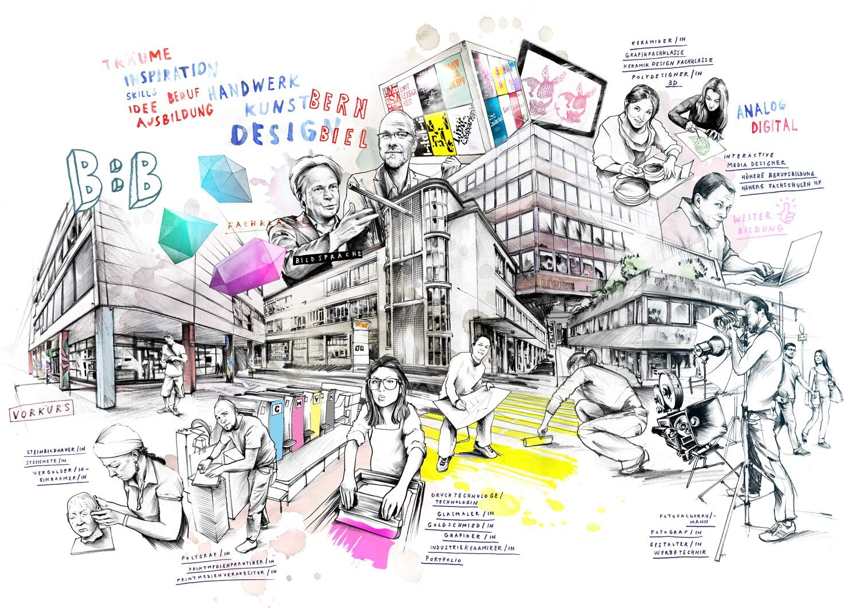 Almanach - Kornel Illustration | Kornel Stadler portfolio