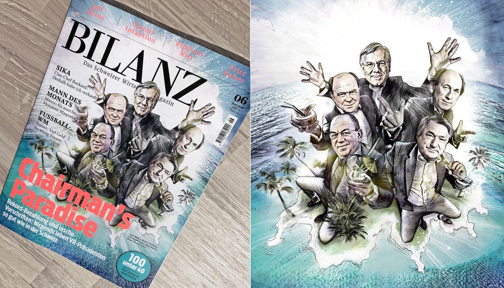 Bilanz Illustration - Kornel Illustration | Kornel Stadler portfolio