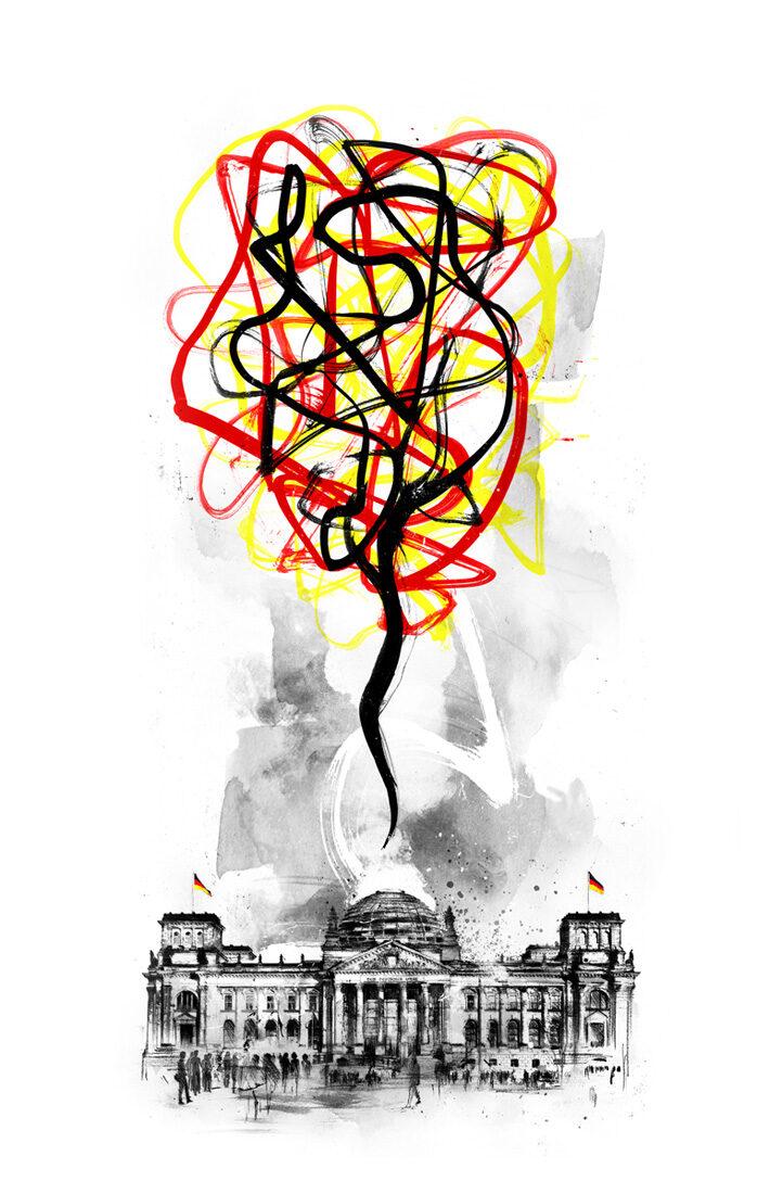 Chaos Berlin - Kornel Illustration | Kornel Stadler portfolio