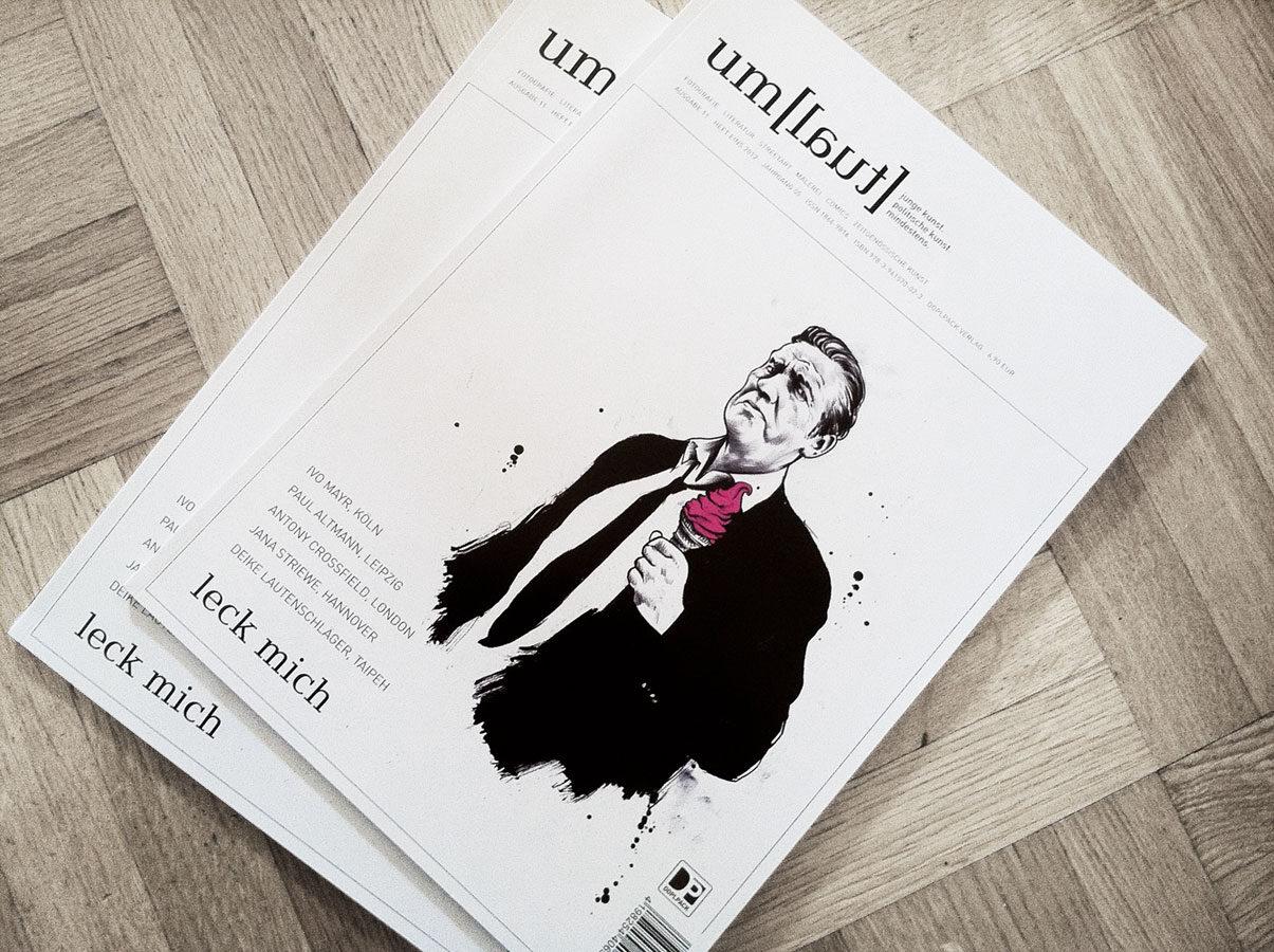 Umlaut magazin - Kornel Illustration   Kornel Stadler portfolio