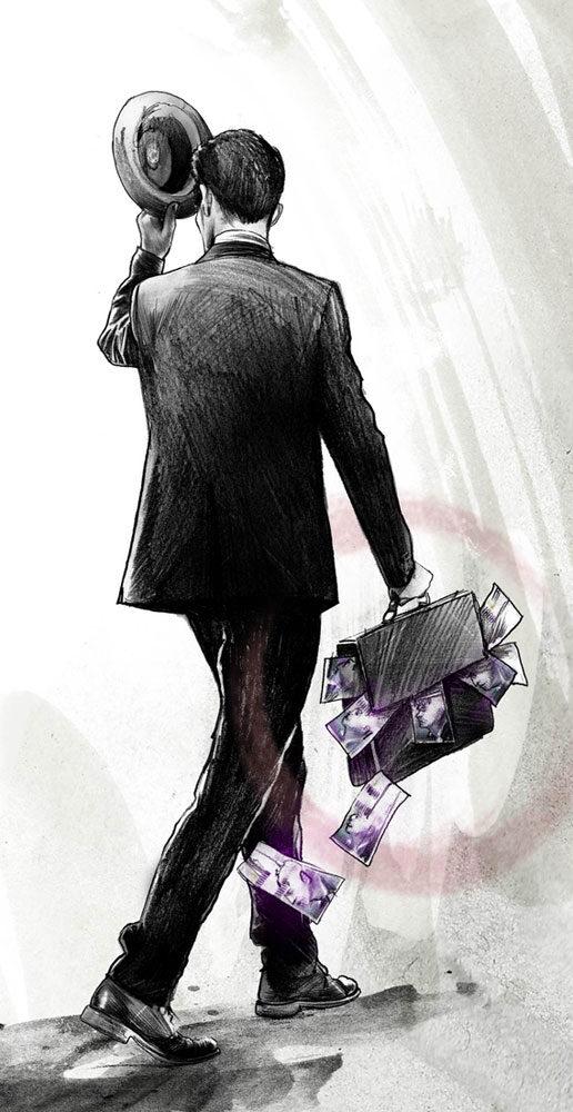 Manager - Kornel Illustration | Kornel Stadler portfolio