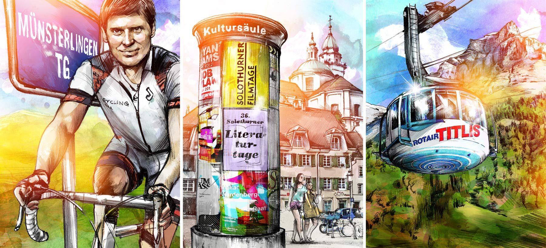Gemeinderating - Kornel Illustration | Kornel Stadler portfolio