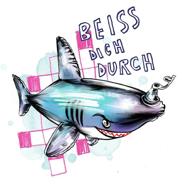 Haifisch - Kornel Illustration | Kornel Stadler portfolio
