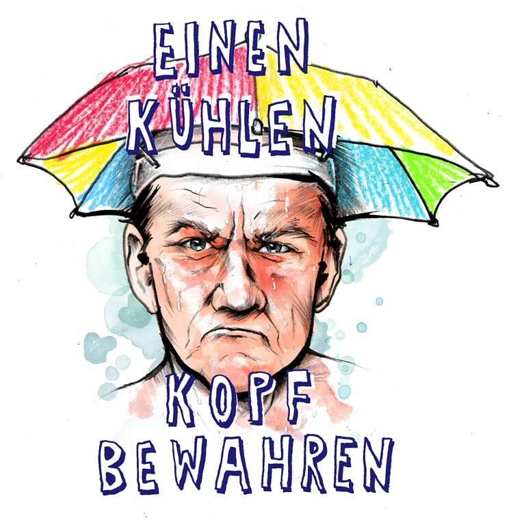 Kopf - Kornel Illustration | Kornel Stadler portfolio