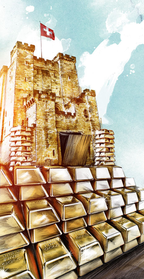 Goldburg - Kornel Illustration | Kornel Stadler portfolio