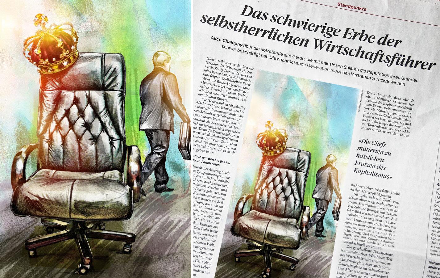 Thron - Kornel Illustration | Kornel Stadler portfolio