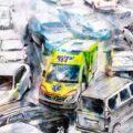 Client Arbeit Ambulanz Stau 2848 1245 600 Kornel Illustration | Kornel Stadler