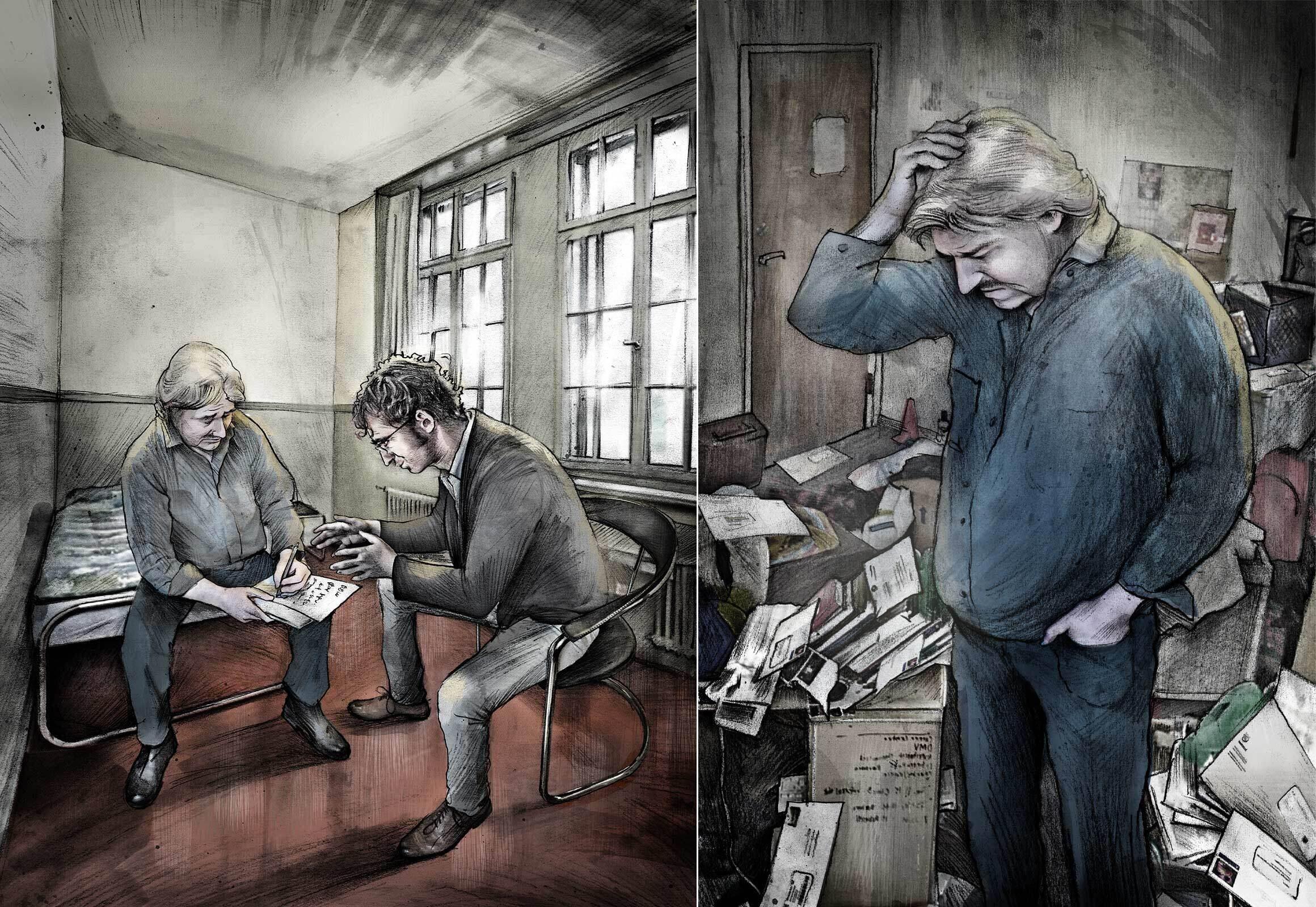 Schulden Existenz Illustration - Kornel Illustration   Kornel Stadler portfolio