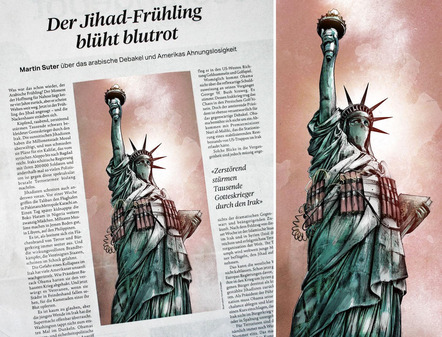 Jihad web - Kornel Illustration | Kornel Stadler portfolio