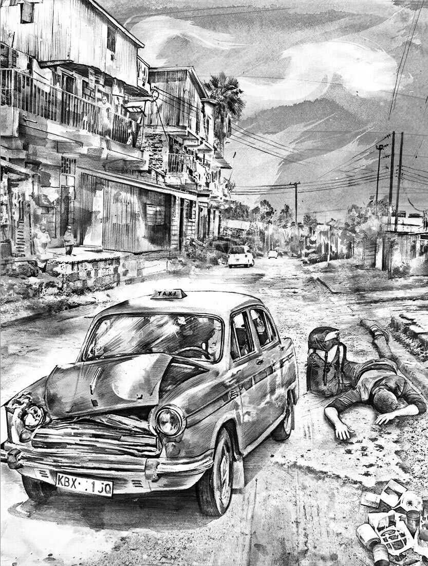 SW Taxi - Kornel Illustration | Kornel Stadler portfolio