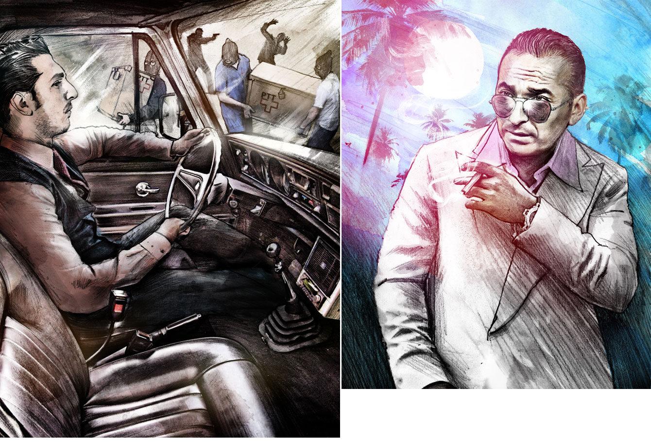 Silano Postraub - Kornel Illustration | Kornel Stadler portfolio