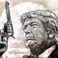 Client Arbeit Sheriff Trump 2666 568 1100 Kornel Illustration | Kornel Stadler