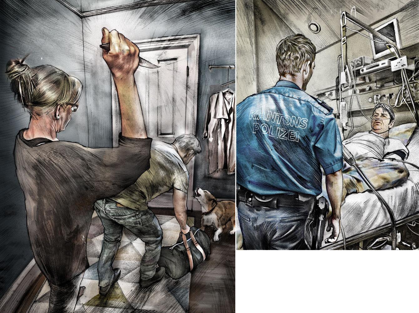 Stich - Kornel Illustration | Kornel Stadler portfolio