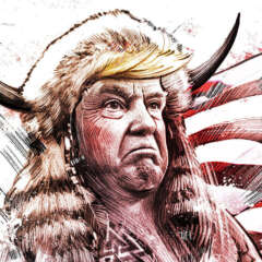 Work Viking Trump Kornel Illustration | Kornel Stadler
