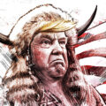Client Arbeit Viking Trump Kornel Illustration | Kornel Stadler