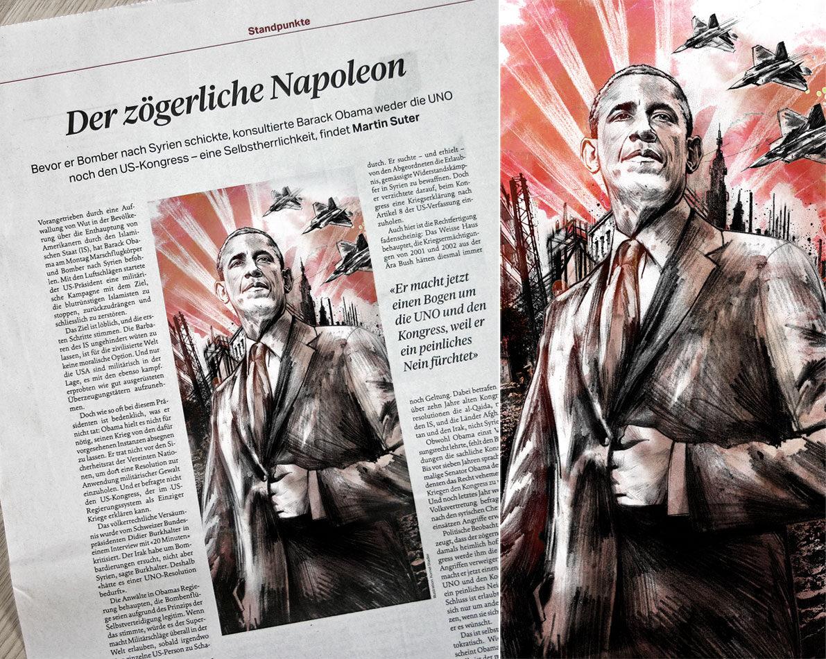 Napoleon - Kornel Illustration | Kornel Stadler portfolio