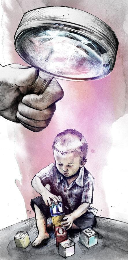 Kindergarten - Kornel Illustration | Kornel Stadler portfolio