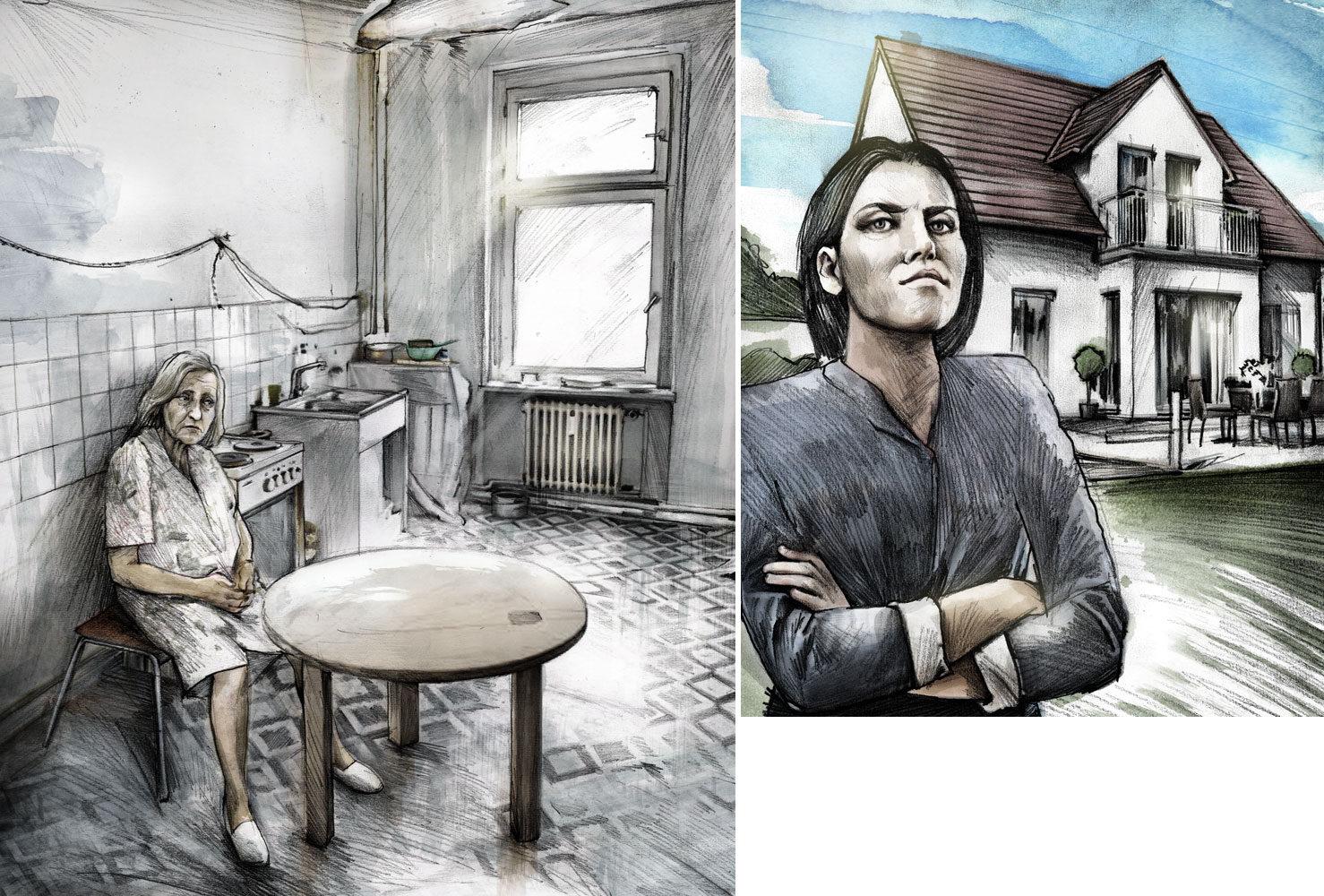 Beobachter3 - Kornel Illustration   Kornel Stadler portfolio