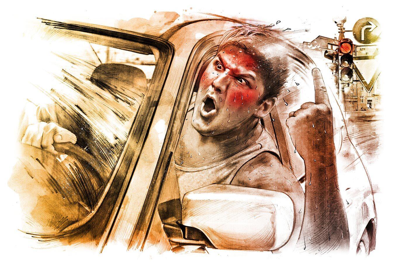 Hitze 2 - Kornel Illustration | Kornel Stadler portfolio