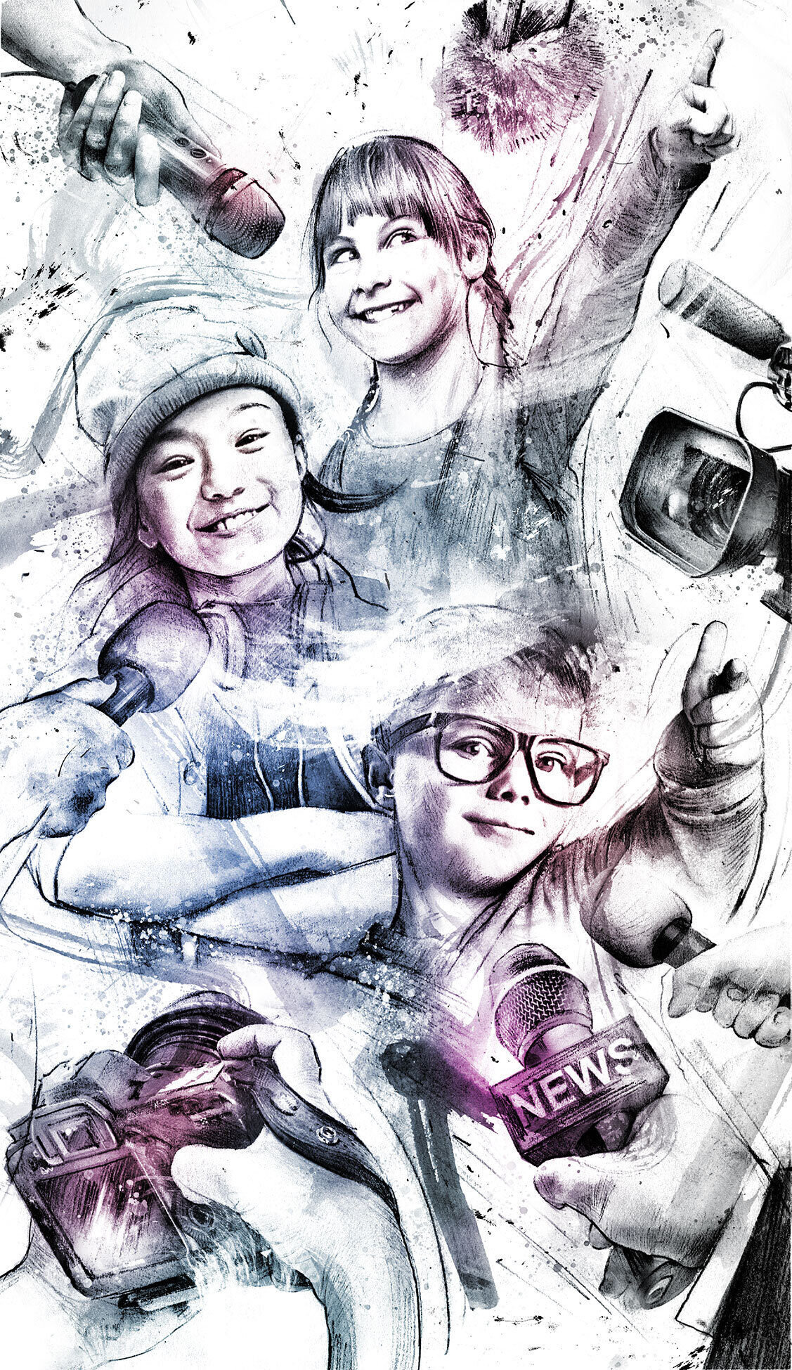 Kids opinion - Kornel Illustration   Kornel Stadler portfolio